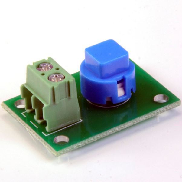 Picture of Blue Push Button