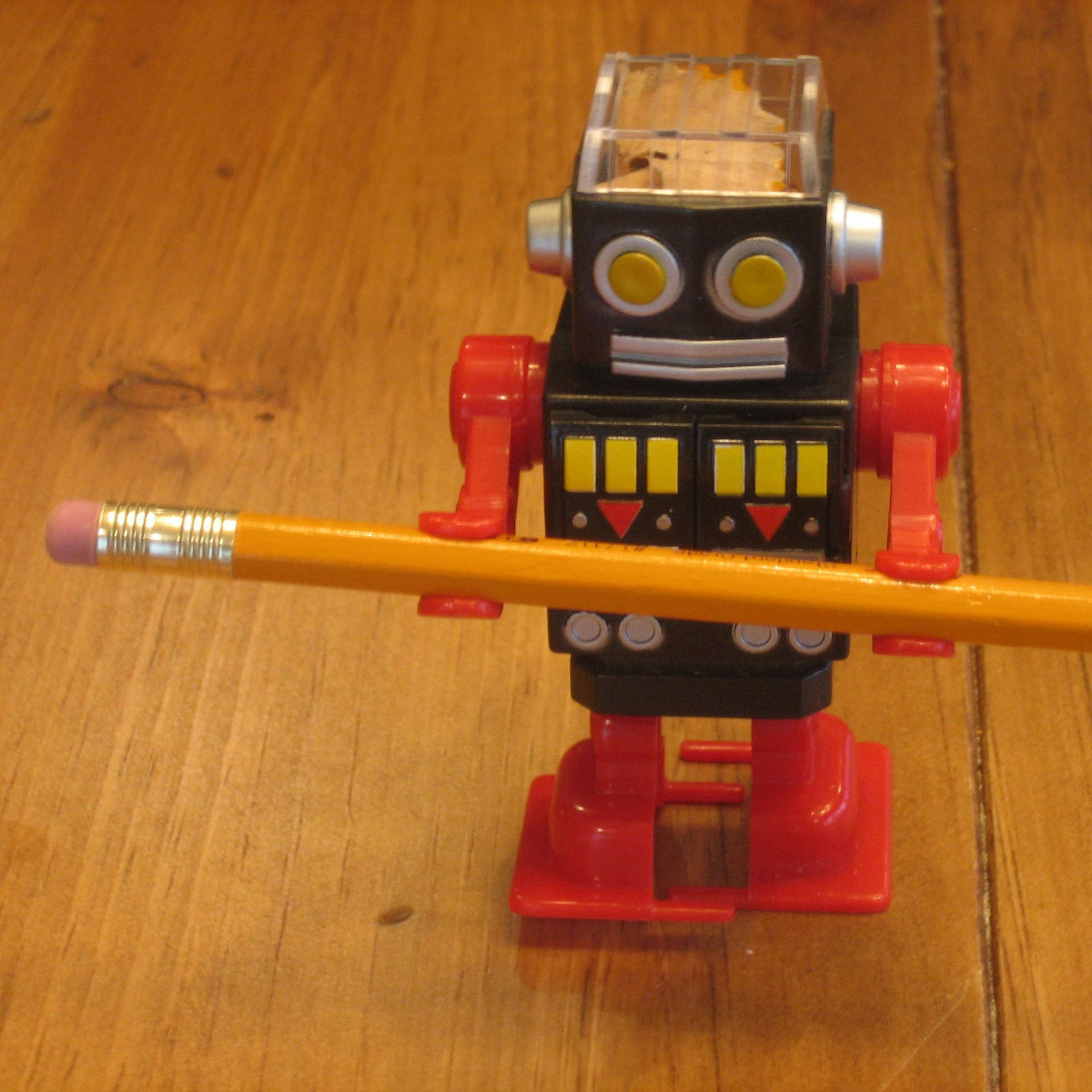 Picture of Robot Pencil Sharpener